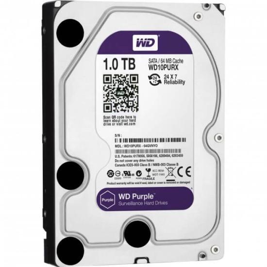 """Western Digital Purple 3.5"""" 1TB Hard Drive"""