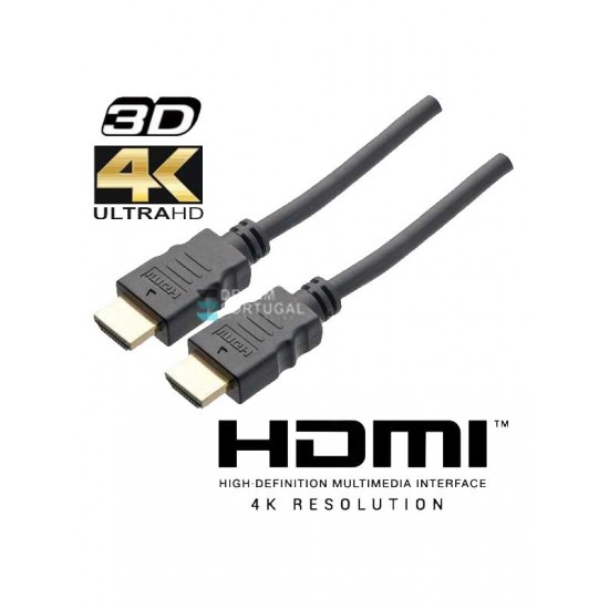 HDMI Cable 2.0 4K 3D 1.5 Meters
