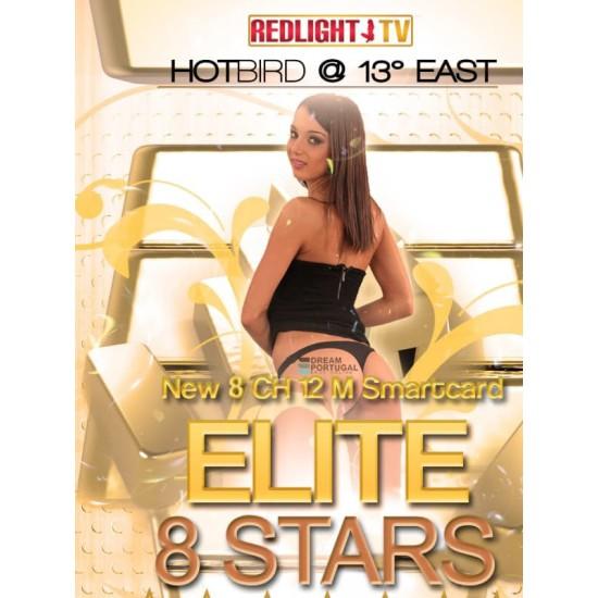 Redlight Elite 9 Stars 12 Months Viaccess Card