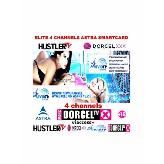 Redlight Elite Astra 4 CH 12M