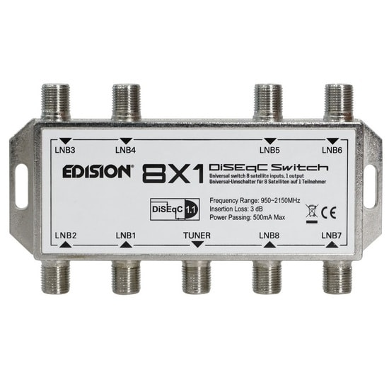 Edision DiseqC Switch 8x1