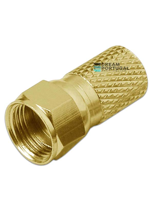 Gold Plated RG6 F Connectors