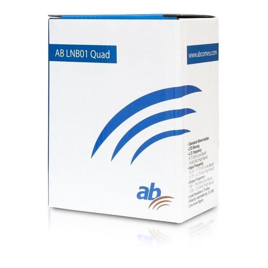 AB LNB01 Quad Blue Edition