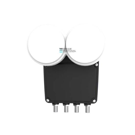 Inverto Quad Monoblock 23mm LNB, 4.3° for 80cm dish