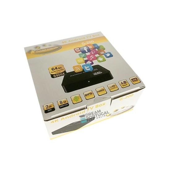 Golden Interstar G-200 4K UHD Android