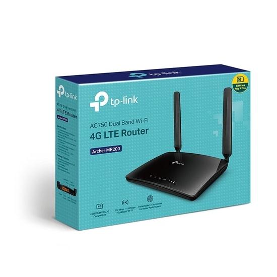 Tp-link Archer MR200 AC750 4G LTE Router