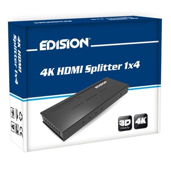 Edision 4K HDMI Splitter 1x4